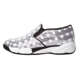 Pinko Sequins Sportcipő Fehér Ezüst
