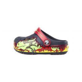 Crocs CrocsLights Fire Dragon Clog Gyerek Crocs Kék