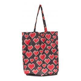 Love Moschino Táska Fekete Piros