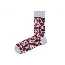 Happy Socks Under The Sea Zokni Piros Szürke