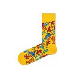 Happy Socks Valentine's Day Zokni Sárga