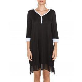 DKNY Season Silhouettes Pizsama Fekete