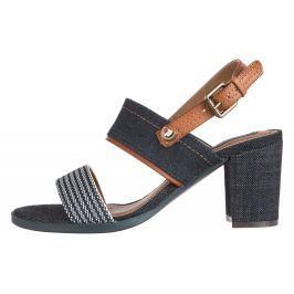 Wrangler Sunset Dayla Magassarkú cipő Kék Barna