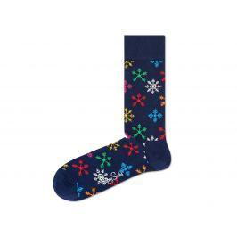 Happy Socks Snowflake Zokni Kék