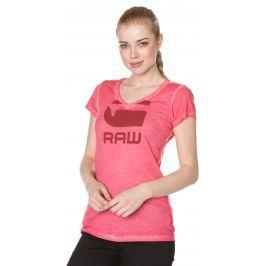 G-Star RAW Suphe Póló Rózsaszín