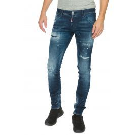 DSQUARED2 Long Clement Farmernadrág Kék