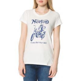 Norton Velocette Póló Fehér