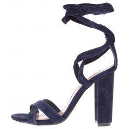Steve Madden Christey Magassarkú cipő Kék