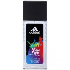Adidas Team Five spray dezodor férfiaknak 75 ml