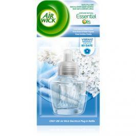 Air Wick Essential Oils Cool Linen & White Lilac elektromos légfrissítő 19 ml utántöltő