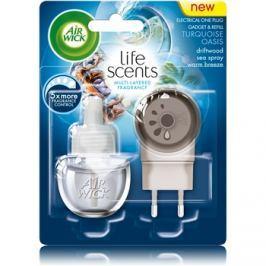 Air Wick Life Scents Turquoise Oasis elektromos légfrissítő 19 ml töltelékkel