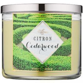 Bath & Body Works Citron Cedarwood illatos gyertya  411 g