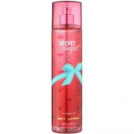 Bath & Body Works Velvet Sugar testápoló spray nőknek 236 ml