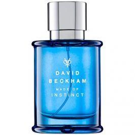David Beckham Made of Instinct eau de toilette férfiaknak 50 ml