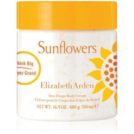 Elizabeth Arden Sunflowers Sun Drops Body Cream testkrém nőknek 500 ml