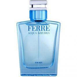 Gianfranco Ferré Acqua Azzura eau de toilette férfiaknak 50 ml