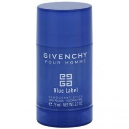 Givenchy Givenchy Pour Homme Blue Label stift dezodor férfiaknak 75 ml