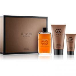 Gucci Guilty Absolute ajándékszett II.  Eau de Parfum 90 ml + borotválkozás utáni balzsam 50 ml + tusfürdő gél 150 ml