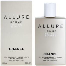 Chanel Allure Homme Édition Blanche tusfürdő férfiaknak 200 ml