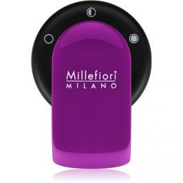 Millefiori GO autóillatosító tartó   töltelékkel Viola (Sandalo Bergamotto)