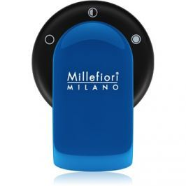 Millefiori GO autóillatosító tartó   töltelékkel Azzurro (Sandalo Bergamotto)