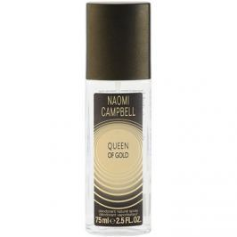 Naomi Campbell Queen of Gold spray dezodor nőknek 75 ml