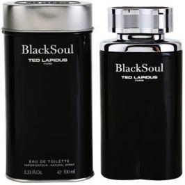 Ted Lapidus Black Soul eau de toilette férfiaknak 100 ml