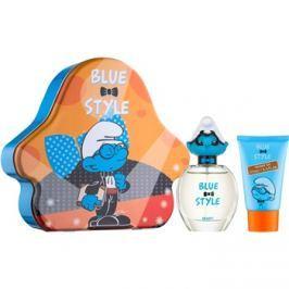 The Smurfs Blue Style Brainy ajándékszett II.  Eau de Toilette 50 ml + tusfürdő gél 75 ml