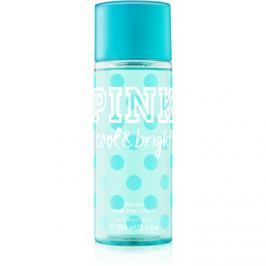 Victoria's Secret PINK Cool and Bright testápoló spray nőknek 250 ml