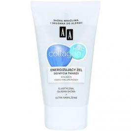 AA Cosmetics Collagen HIAL+ energizáló és tisztító gél 30+  150 ml