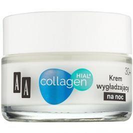 AA Cosmetics Collagen HIAL+ éjszakai bőrnyugtató krém 30+  50 ml