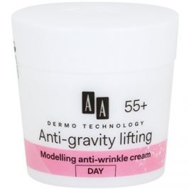 AA Cosmetics Dermo Technology Anti-Gravity Lifting modellező krém a ráncok ellen 55+  50 ml
