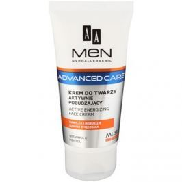 AA Cosmetics Men Advanced Care energizáló krém az arcra  75 ml