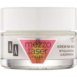 AA Cosmetics MezzoLaser feszesítő éjszakai krém regeneráló hatással 40+  50 ml