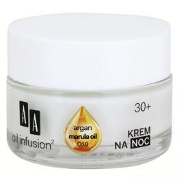 AA Cosmetics Oil Infusion2 Argan Marula 30+ éjszakai tápláló krém ránctalanító hatással  50 ml