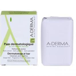 A-Derma Original Care bőrgyógyászati tisztító szappan érzékeny, irritált bőrre  100 g
