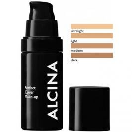 Alcina Decorative Perfect Cover make-up egységesíti a bőrszín tónusait árnyalat Light 30 ml