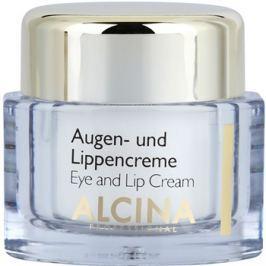 Alcina Effective Care krém szemre és ajakra kisimító hatással  15 ml