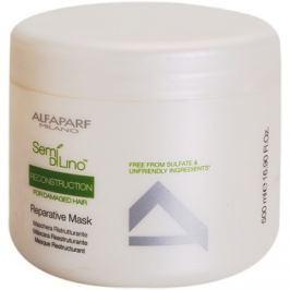 Alfaparf Milano Semi di Lino Reconstruction for Damaged Hair regeneráló maszk a károsult hajra  500 ml