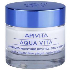 Apivita Aqua Vita intenzív hidratáló és revitalizáló krém normál és száraz bőrre  50 ml