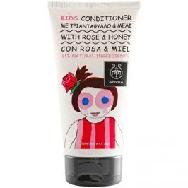 Apivita Kids Rose & Honey hajkondicionáló gyermekeknek  150 ml