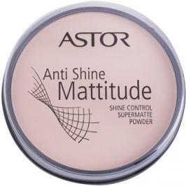 Astor Mattitude Anti Shine mattító púder árnyalat 001 Ivory  14 g