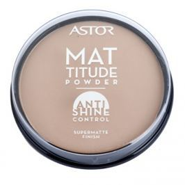 Astor Mattitude Anti Shine mattító púder árnyalat 004 Sand  14 g