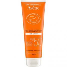 Avène Sun Sensitive napozótej SPF50+  250 ml