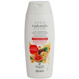 Avon Naturals Hair Care sampon és kondicionáló 2 in1  250 ml