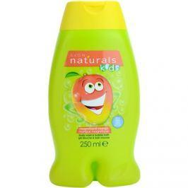 Avon Naturals Kids habfürdő és tusfürdő gél 2 in 1 gyermekeknek  250 ml