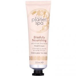 Avon Planet Spa Blissfully Nourishing with Ginger kézkrém bambusszal  30 ml