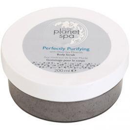 Avon Planet Spa Perfectly Purifying tisztító testpeeling ásványi anyagokkal  200 ml