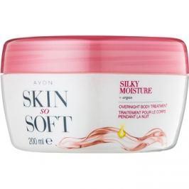 Avon Skin So Soft Silky Moisture éjjeli testkrém  200 ml
