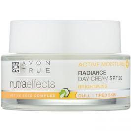 Avon True NutraEffects élénkítő nappali krém SPF 20  50 ml